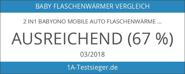 2 in1 BabyOno Mobile Auto Flaschenwärmer & Kühler