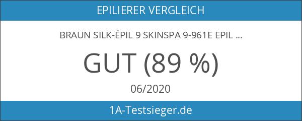 Braun Silk-épil9 SkinSpa9-961e Epilierer ) weiß