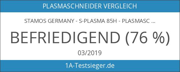 Stamos Germany - S-PLASMA 85H - Plasmaschneider CUT 85 -