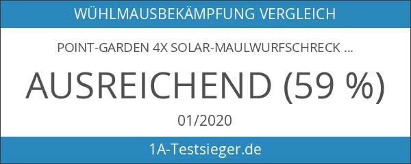 point-garden 4x Solar-Maulwurfschreck
