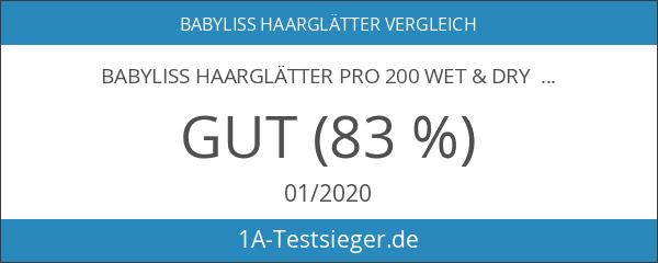 BaByliss ST227E Pro 200 Ultra Wet&Dry Glätteisen