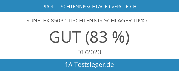 SUNFLEX 85030 Tischtennis-Schläger TIMO BOLL black NEU