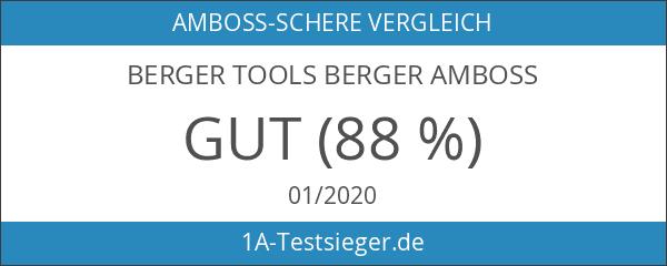 Berger Amboss-Schere polierte Klinge 195 mm
