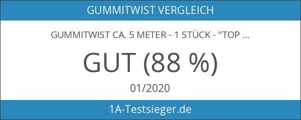 "Gummitwist ca. 5 Meter - 1 Stück - ""Top Qualität"""