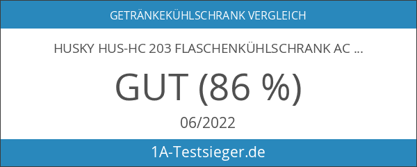 Husky HUS-HC 203 Flaschenkühlschrank AC