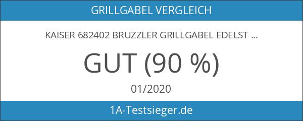 Kaiser 682402 Bruzzler Grillgabel Edelstahl