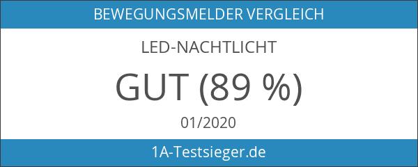 TeckNet® LED LED-Nachtlicht mit Bewegungsmelder und Helligkeitssensor