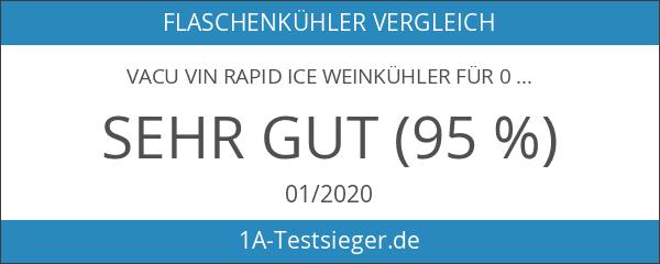 Vacu Vin Rapid Ice Weinkühler für 0