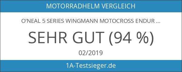 O'neal 5 Series Wingmann Motocross Enduro MTB Helm metal