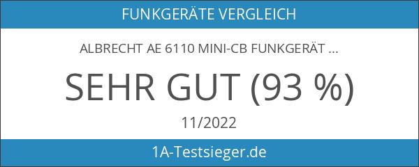 Albrecht AE 6110 Mini-CB Funkger