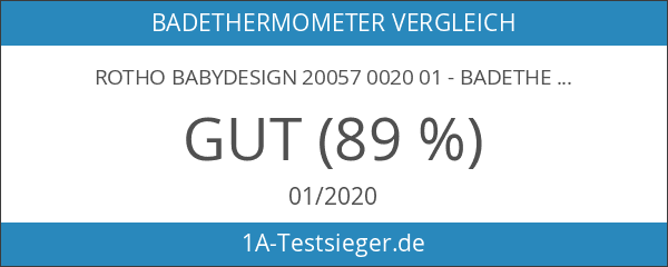 Rotho Babydesign 20057 0020 01 - Badethermometer