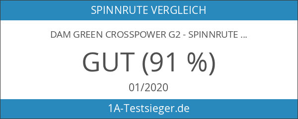 DAM Green Crosspower G2 - Spinnrute