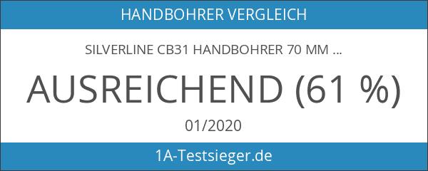 Silverline CB31 Handbohrer 70 mm