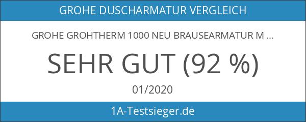 GROHE Grohtherm 1000 Neu Brausearmatur mit 2-Wege-Umstellung für GROHE Rapido