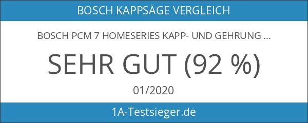 Bosch PCM 7 HomeSeries Kapp- und Gehrungssäge