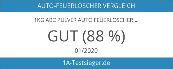 1kg ABC Pulver Auto Feuerlöscher