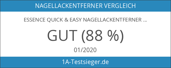 Essence quick & easy Nagellackentferner