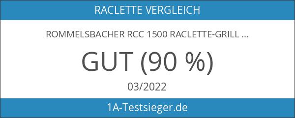 ROMMELSBACHER RCC 1500 Raclette-Grill