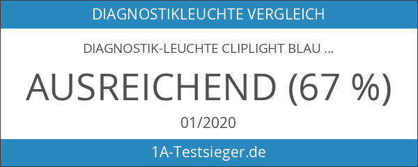 Diagnostik-Leuchte Cliplight blau