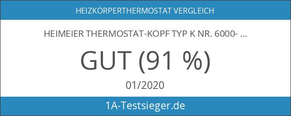Heimeier Thermostat-Kopf Typ K Nr. 6000-00