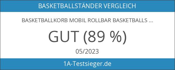 Basketballkorb Mobil Rollbar Basketballständer Basketball Streetball Korb Ball 205-305 cm