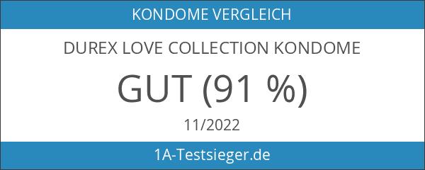 Durex Love Collection Kondome – Bunter Kondom Mix für heiße