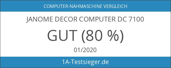 Janome Decor Computer DC 7100