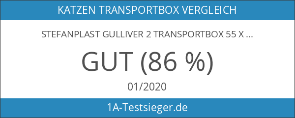 Stefanplast GULLIVER 2 Transportbox 55 x 36 x 35 cm