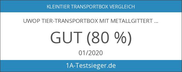 UWOP Tier-Transportbox mit Metallgittertür