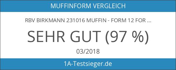 RBV Birkmann 231016 Muffin - Form 12 Formen auf Blech