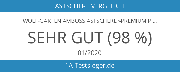 WOLF-Garten Amboss Astschere »Premium Plus« POWER CUT*** RS 900 T;