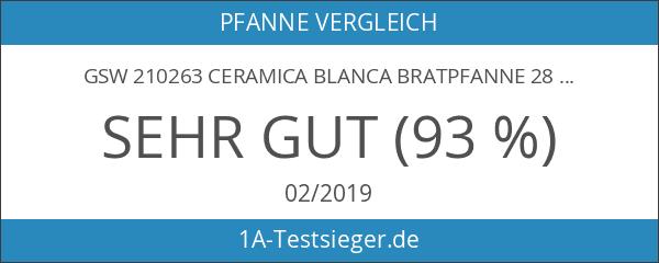 GSW 210263 Ceramica blanca Bratpfanne 28 cm