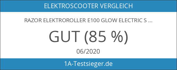 Razor Elektroroller E100 Glow Electric Scooter