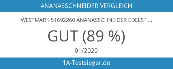 Westmark 51692260 Ananasschneider Edelstahl