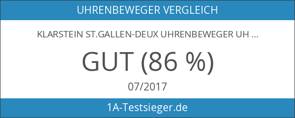 Klarstein St.Gallen-Deux Uhrenbeweger Uhrenrotator schwarz-blau