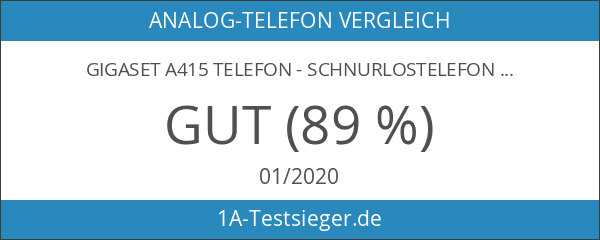 Gigaset A415 Telefon - Schnurlostelefon