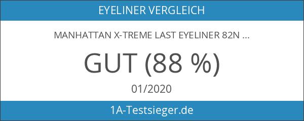 Manhattan X-Treme Last Eyeliner 82N