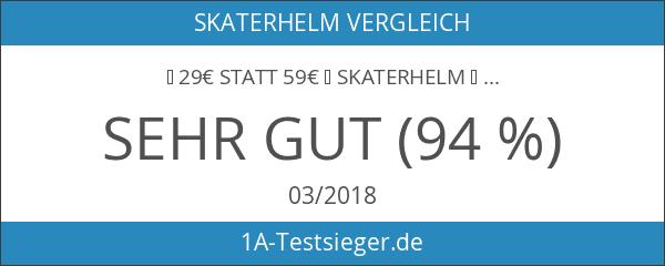 ► 29€ statt 59€ ☢ Skaterhelm ☢ BMX-Helm ☢ Fahrradhelm