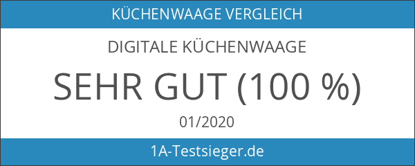 Digitale Küchenwaage