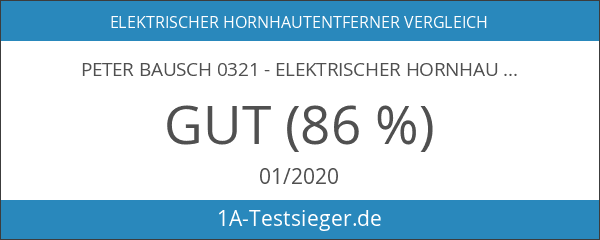 Peter Bausch 0321 - Elektrischer Hornhautschleifer Pedipeel
