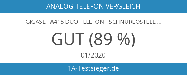 Gigaset A415 Duo Telefon - Schnurlostelefon