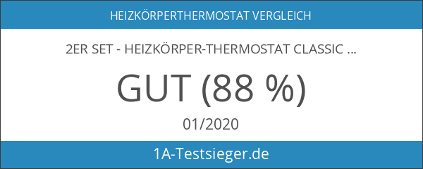 "2er Set - Heizkörper-Thermostat Classic ""L"" mit Boost-Funktion +++ neues"