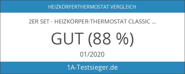 "2er Set - Heizkörper-Thermostat Classic ""L"" mit Boost-Funktion +++ neues"