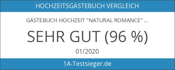 """Gästebuch Hochzeit """"Natural Romance"""""""