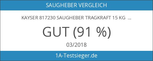 KAYSER 817230 Saugheber Tragkraft 15 kg Kopf-Ø 80 mm
