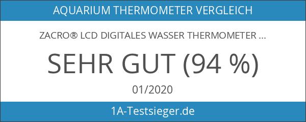 Zacro® LCD Digitales Wasser Thermometer für Terrarium