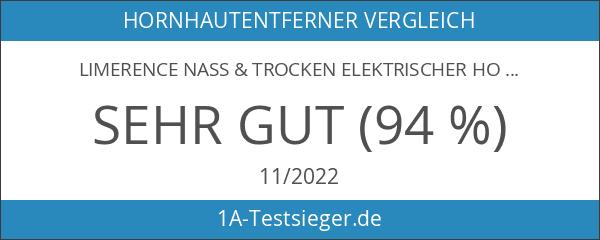 Limerence Nass & Trocken Elektrischer Hornhautentferner - wasserdicht