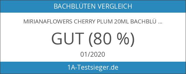 MirianaFlowers Cherry Plum 20ml Bachblüten Stockbottle