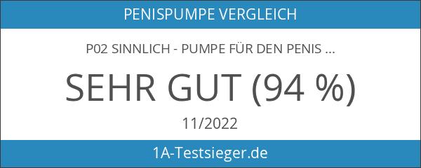 P02 SINNLICH - Pumpe für den Penis