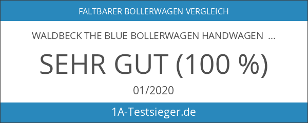 Waldbeck The Blue Bollerwagen Handwagen Transportwagen Einkaufswagen camouflage